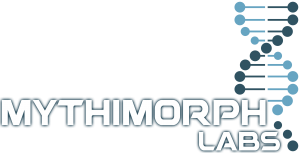 Mythimorph Labs DNA Logo